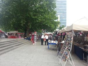 Sommerfest vom 31. Juli  bis 16. August 2015 am Breitscheidplatz.