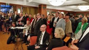 Viele Gäste folgten der Einladung von Leonhard Müller.