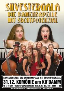 Silvester Gala Show: Die Damenkapelle mit Suchtpotenzial. © fairmedia GmbH, Torsten Goltz