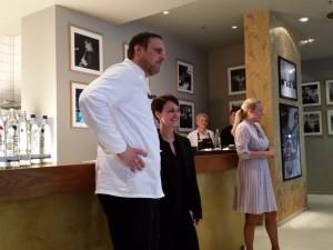 Küchenchef Florian Glauert verantwortet die Küche im DUKE Ellington.