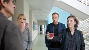 Mark Waschke und Meret Becker ermitteln im Berlin-Tatort. Foto: rbb