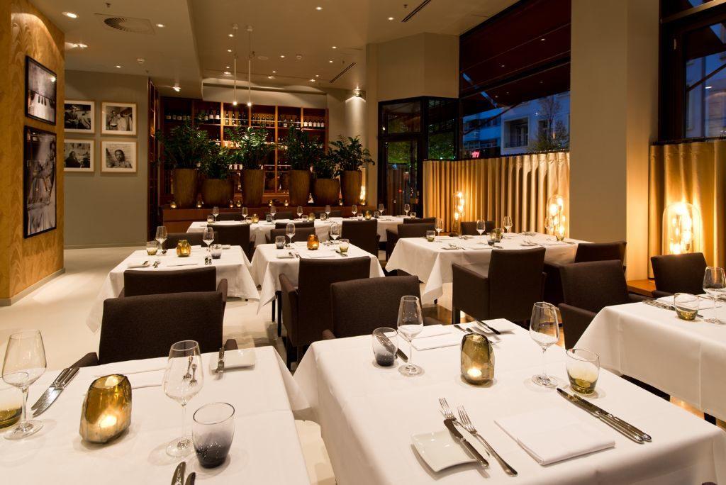 Das Restaurant DUKE im Hotel Ellington. Foto: Andreas Rehkopp