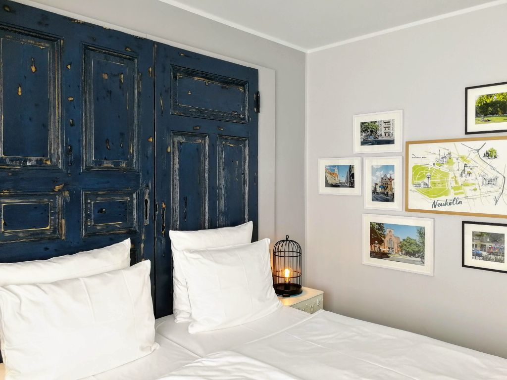 500 der insgesamt 701 Zimmer wurden gerade im Berlin-Style umgestaltet.