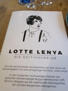 Namensgeberin Lotte Lenya.