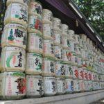 Auch Sake kann man beim JapanFoodFestival kosten.