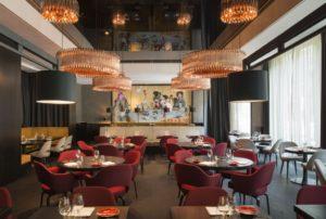 Das Restaurant Le Faubourg im Sofitel am Berliner Kudamm.