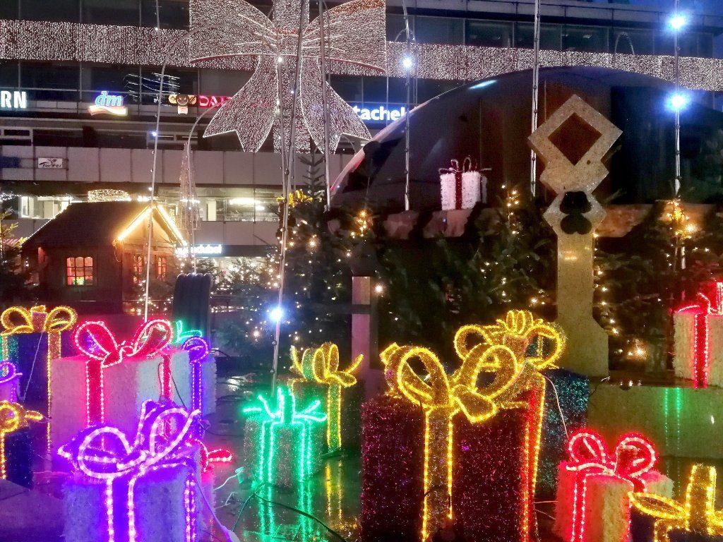 Der dekorierte Breitscheidplatz