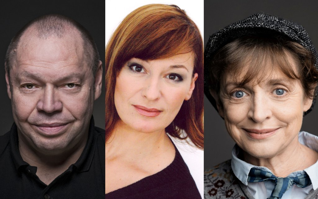 Thomas Quasthoff, Andreja Schneider, Katharina Thalbach