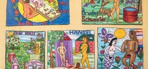 Stickbilder von Helga Goetze.