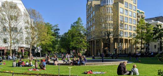 Parks und Grünflächen werden zur Erholung genutzt.