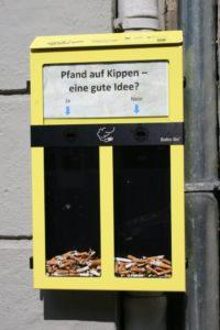 Die neue Kippenbox vom Leon-Jessel-Platz. © Stadtteilinitiative Leon-Jessel-Platz