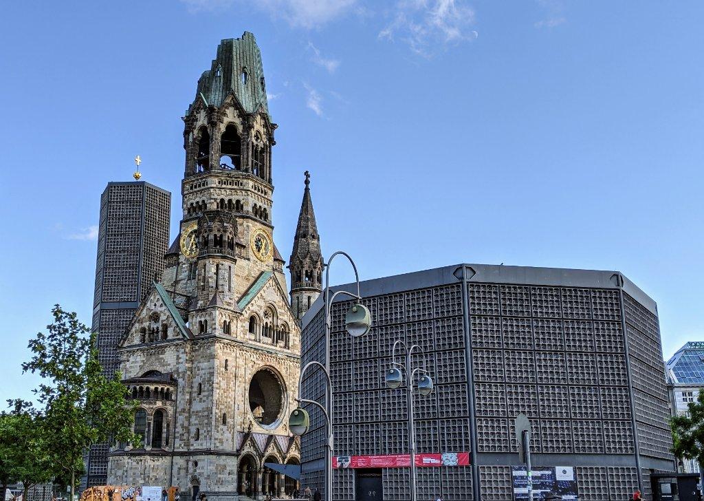 Die Kaiser-Wilhelm-Gedächtniskirche feiert 125. Jubiläum.