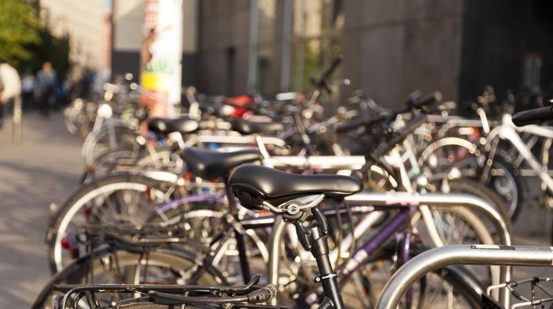 Brauchen mehr Platz: Fahrräder in der Stadt.