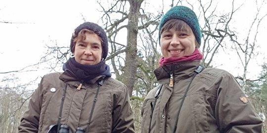 Stadtnatur-Ranger: Astrid Kinateder und Ina Müller (v.l.)