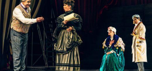 Vorhang auf für Cyrano - Premiere am 13. Juni 2021. Foto: Franziska Strauss