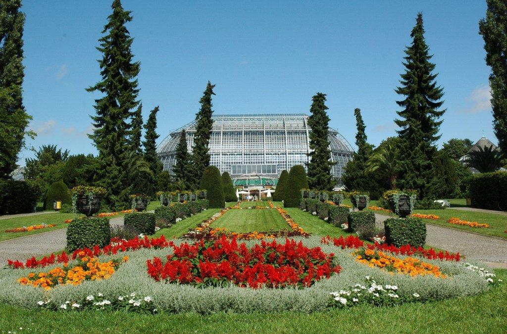 Die Gewächshäuser im Botanischen Garten öffnen wieder.