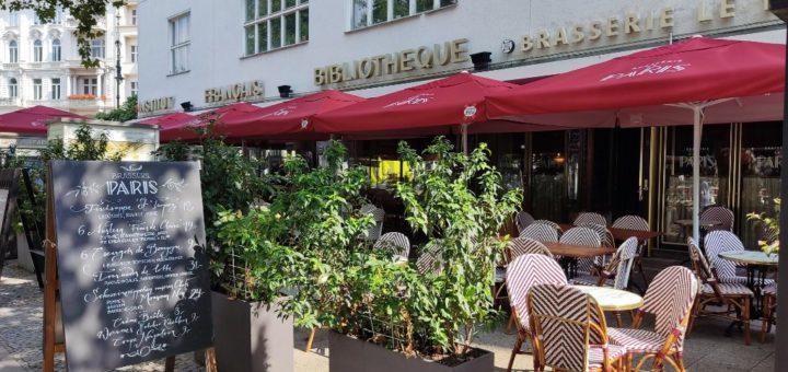 Brasserie Le Paris auf dem Berliner Kudamm.